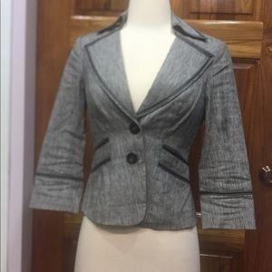 Bebe Sport Jacket with Contrast Trim